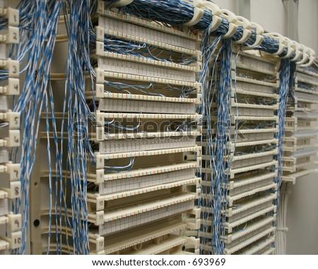 Superb Wiring Closet Punch Down Block Stockfoto Jetzt Bearbeiten 693969 Wiring 101 Swasaxxcnl
