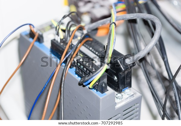 Foto de stock sobre Wiring Installation Automatic ... Automatic Wiring on