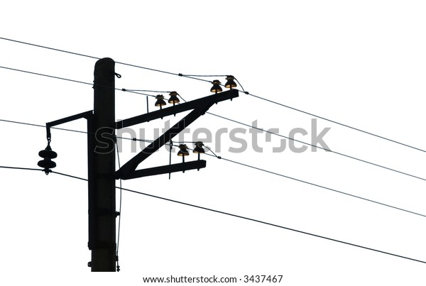 Wiring isolated on white