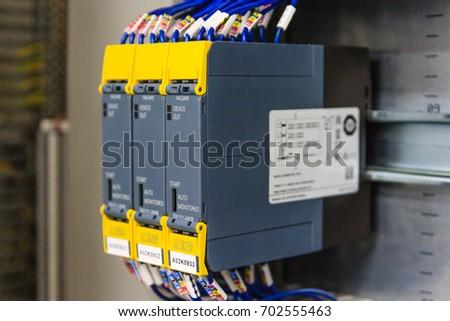 Outstanding Wiring Plc Control Panel Wires Cabinet Stockfoto Jetzt Bearbeiten Wiring Digital Resources Antuskbiperorg