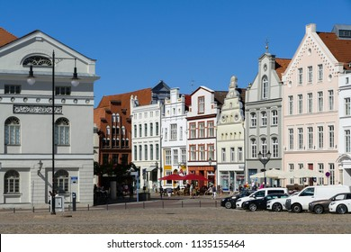 Wismar, historical houses on the market