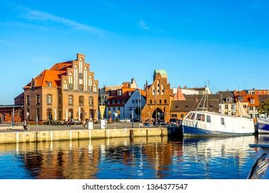 Wismar, Historical Marina, Germany