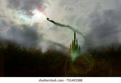witch flyby of emerald city