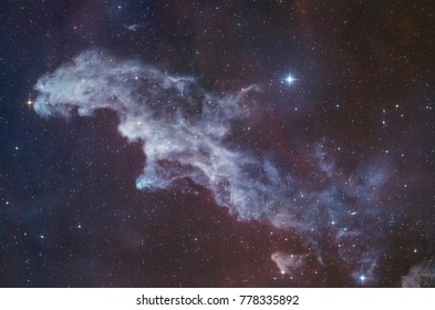 The Witch Head Nebula (IC 2118) in the Constellation of Eridanus