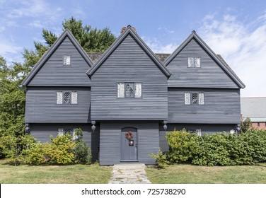 Witch House, Salem, Massachusetts, USA