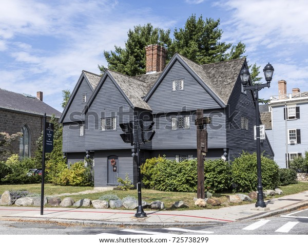 Witch House Salem Massachusetts Usa Stock Photo Edit Now 725738299