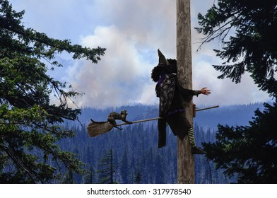 Witches, Fire & Power Poles Do Not Mix