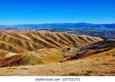 Wither Hills Farm Park, Blenheim, New Zealand; On the walk you'll experience great views to the NW of the Richmond Ranges, Wairau Valley and over to Blenheim.