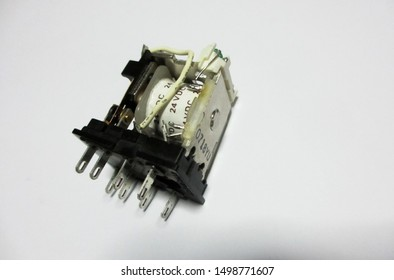 Within one contact relay timer