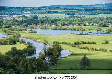 Wittenham Clumps, Thames Valley, Oxfordshire, England, United Kingdom, Europe