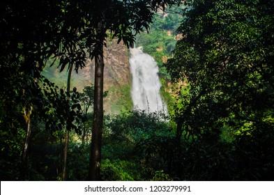 Wli Waterfalls, Volta Region, Ghana.