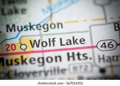 Wolf Lake. Michigan. USA