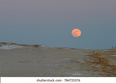 wolf moon in January 2018