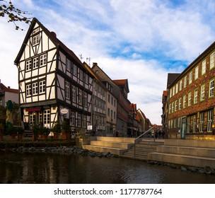 Wolfenbuettel old town Zimmerhof