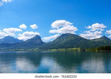 Wolfgangsee / Lake Wolfgang  Austria