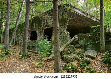 wolf's Lair, Adolf Hitler's quarters in Masuria near Giżycko