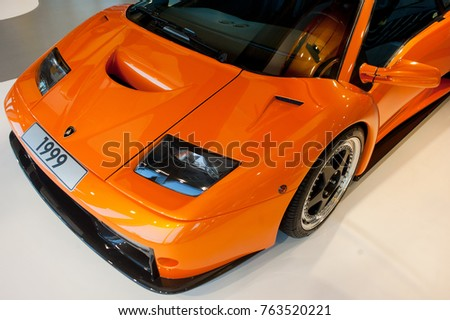 Wolfsburg Germany 2017 Lamborghini Diablo Gt Stock Photo Edit Now