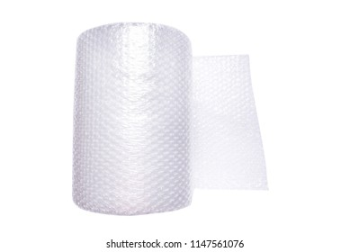 Woll of wrapping bubble film