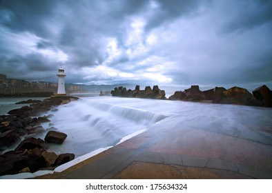 Wollongong lighthouse providing safe harbor