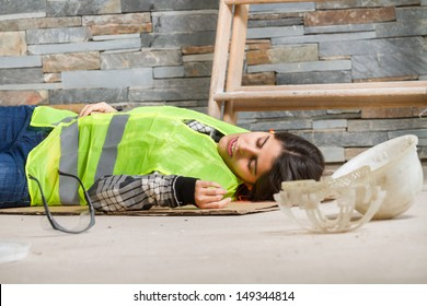 Woman in accident at workplace
