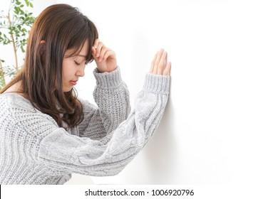 Woman anemia image