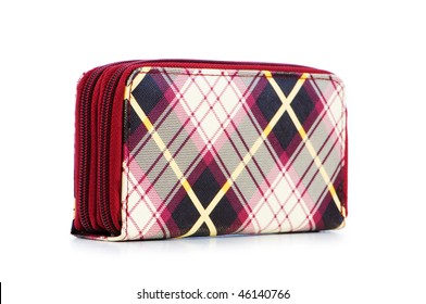 Woman bag isolated on the white background