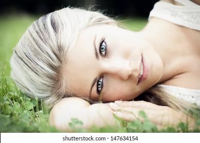 Schönheit der Frau