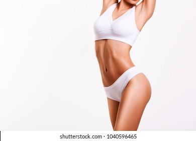 Schönheit der Frau, Körperpflege.