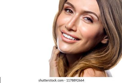 woman beauty portrait studio shot