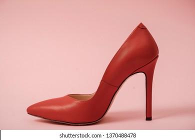 Woman beauty shoes. Shoes.