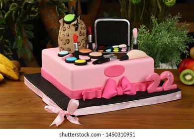Fabulous Brush Cake Stock Photos Images Photography Shutterstock Personalised Birthday Cards Paralily Jamesorg