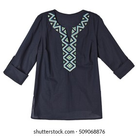 woman blouse isolated