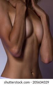 Woman body torso