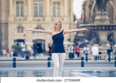 woman in Bordeaux