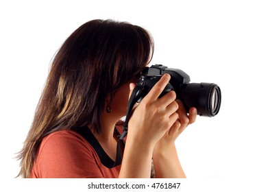 woman with camera #5