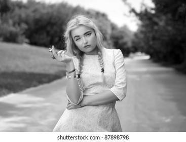 Mature blonde 8987