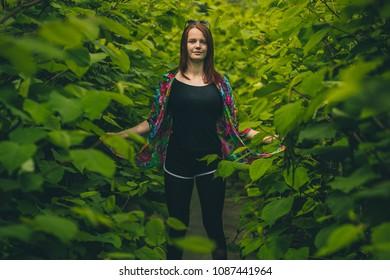 Digital redhead bush