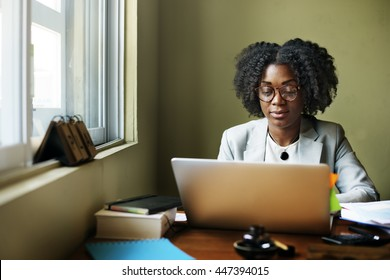 Woman Connection Computer Networking Wireless Concept