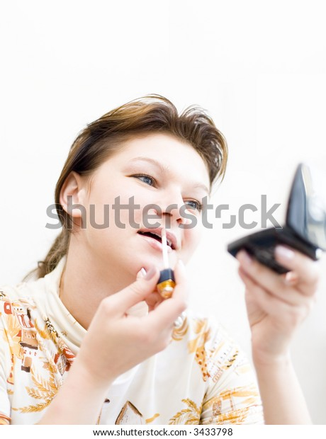 Woman doing a make-up #2