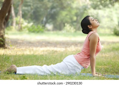 Indian Doing Yoga Stock Photos Images Photography Shutterstock