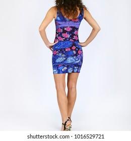 Woman dress slim