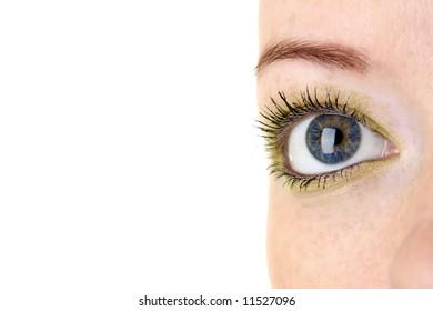 Woman eye (shallow dof)