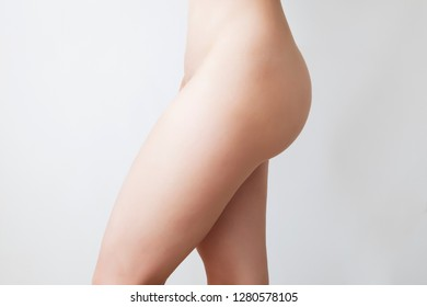 woman figure with excess subcutaneous fat
