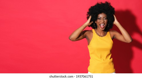 A woman full of energy.