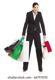 Woman guilty of shopping