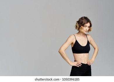 woman in the gym, sport