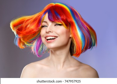 Hair Color Images Stock Photos Vectors Shutterstock