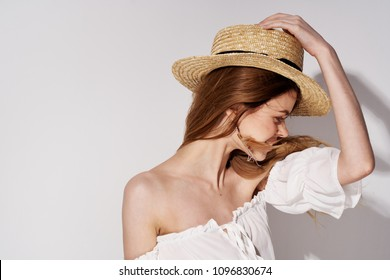 The woman in the hat