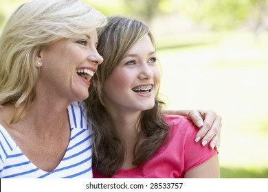 Woman And Her Teenage Daughter