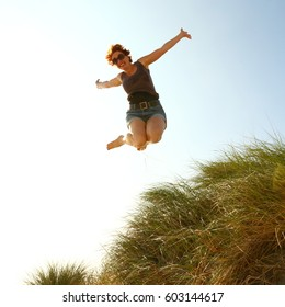jumping for joy images stock photos vectors shutterstock